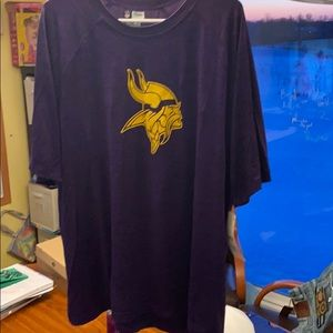Minnesota Vikings Tram Apparel 2XL T shirt
